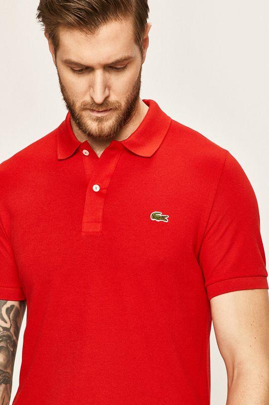 červená Lacoste - Pánske polo tričko Pánsky