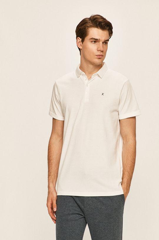 biela Clean Cut Copenhagen - Polo tričko Pánsky