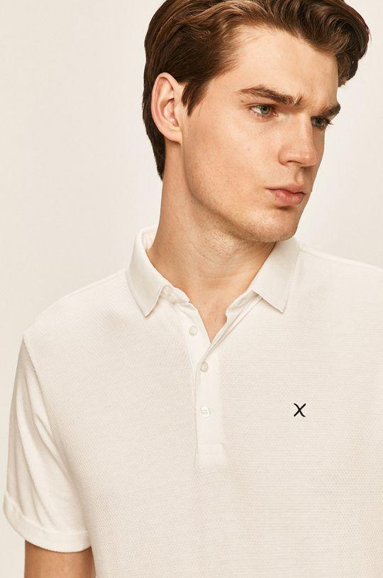 biela Clean Cut Copenhagen - Polo tričko