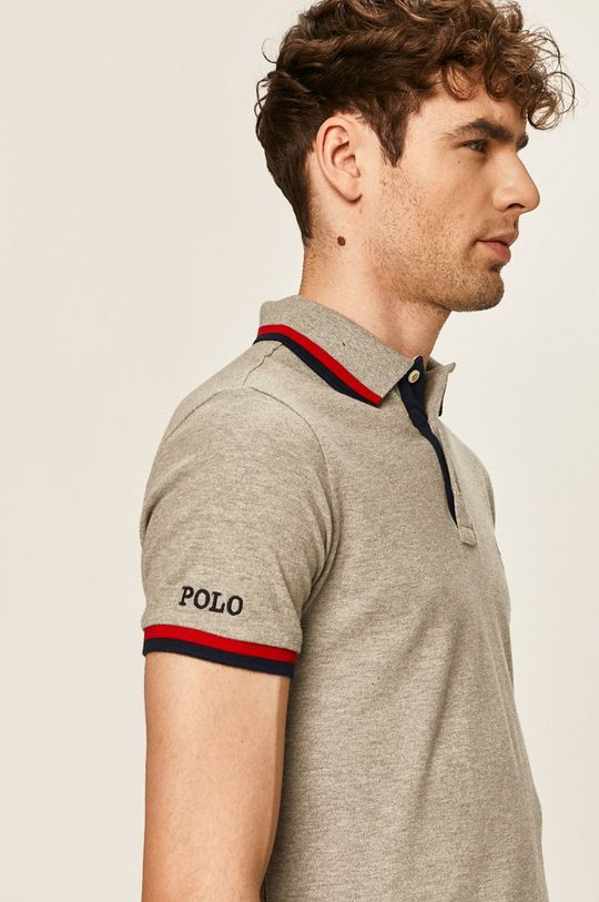 šedá Polo Ralph Lauren - Polo tričko