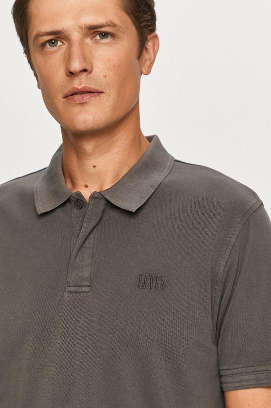 grafitová Levi's - Polo tričko
