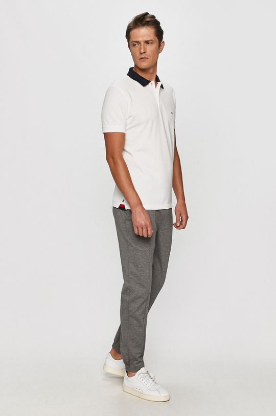 Tommy Hilfiger - Tricou Polo alb