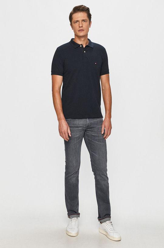 Tommy Hilfiger - Polo tričko tmavomodrá