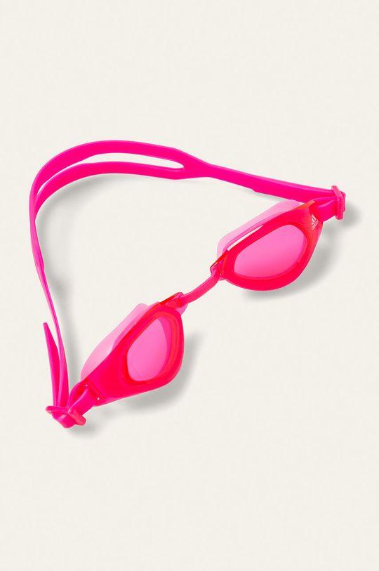ostrá růžová adidas Performance - Dětské plavecké brýle Dívčí
