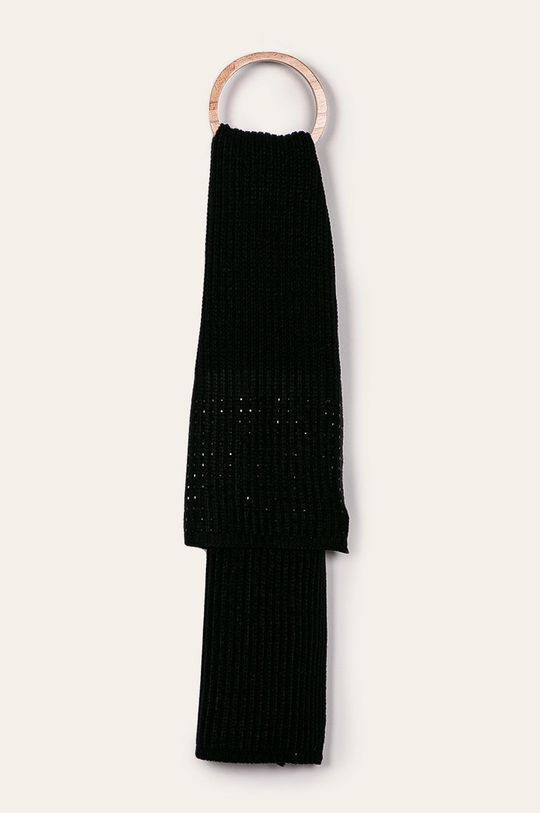 Calvin Klein - Czapka i szalik czarny