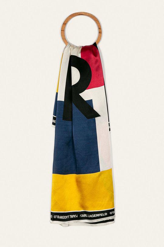 vícebarevná Karl Lagerfeld - Šátek Dámský