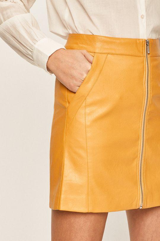 jasně oranžová Only - Sukně
