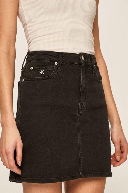 černá Calvin Klein Jeans - Sukně Dámský