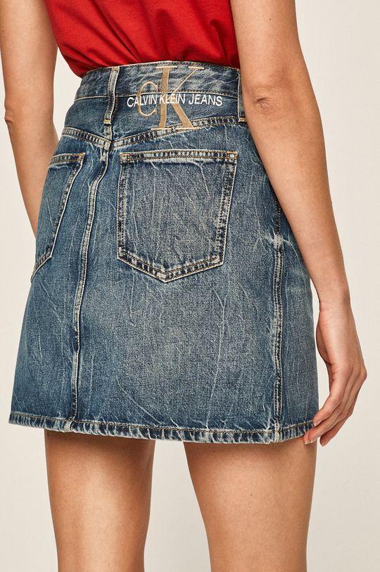 Calvin Klein Jeans - Džínová sukně 100% Bavlna