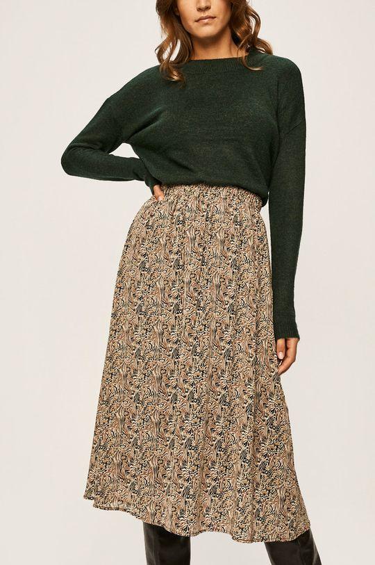 beżowy Vero Moda - Spódnica Damski