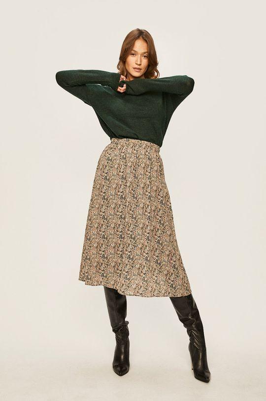 Vero Moda - Spódnica beżowy