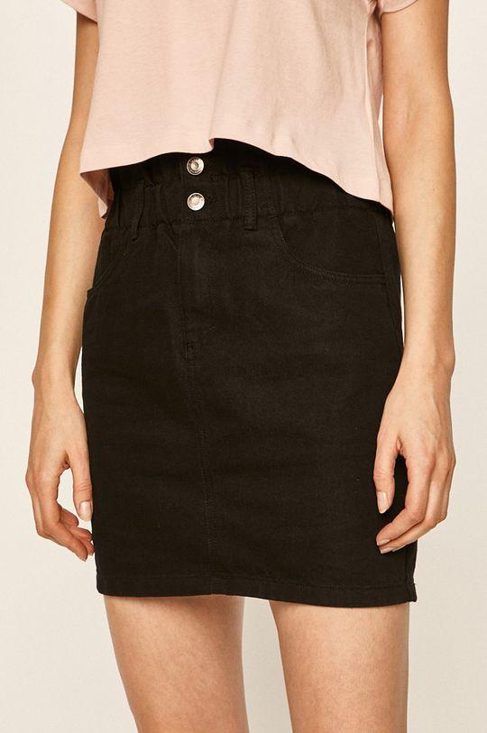 negru Only - Fusta jeans De femei