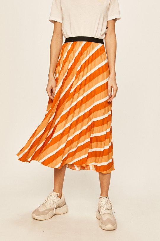 pomarańczowy Only - Spódnica Damski