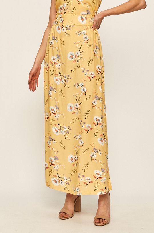 żółty Roxy - Spódnica Damski