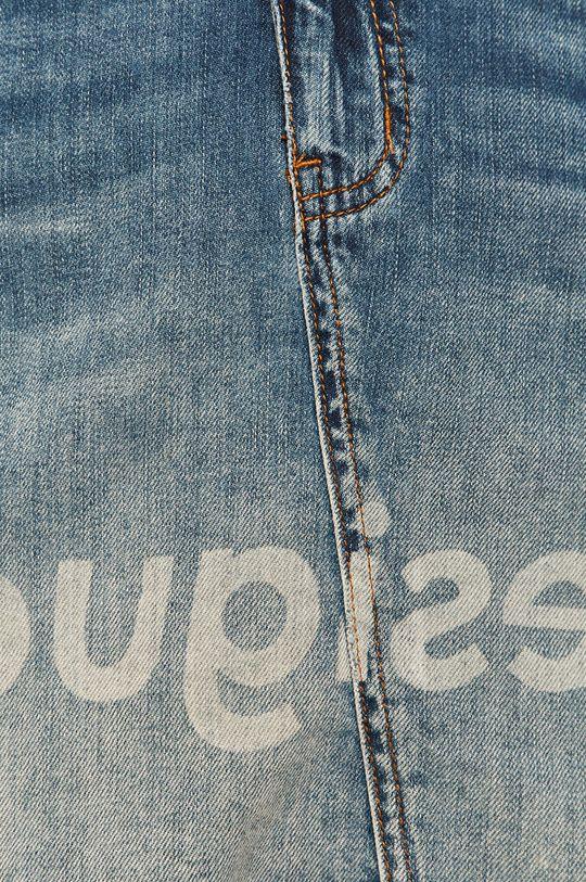 modrá Desigual - Rifľová sukňa
