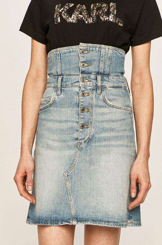 albastru Guess Jeans - Fusta jeans De femei