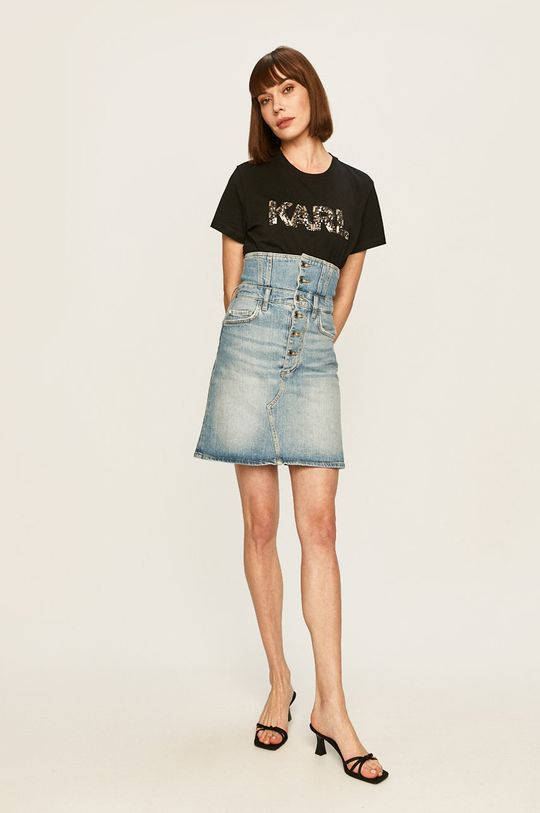 Guess Jeans - Fusta jeans albastru