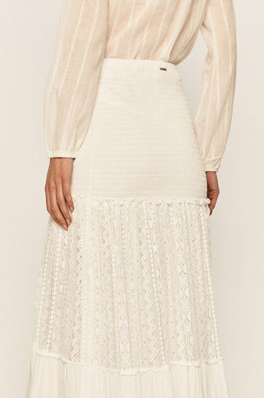 biały Guess Jeans - Sukienka