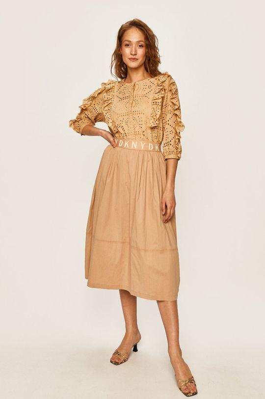 Dkny - Spódnica brązowy