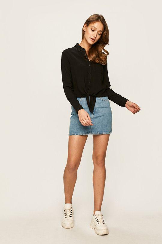 Wrangler - Spódnica jeansowa jasny niebieski