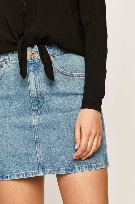 jasny niebieski Wrangler - Spódnica jeansowa