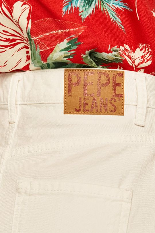 biela Pepe Jeans - Sukňa Rachel