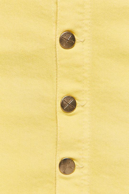 pszeniczny Pepe Jeans - Spódnica Trickie x Dua Lipa