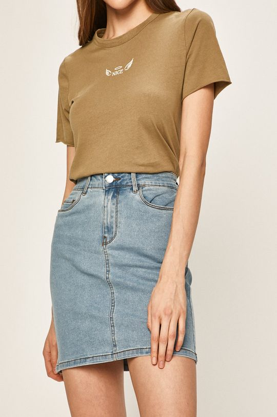 jasny niebieski Vero Moda - Spódnica Damski