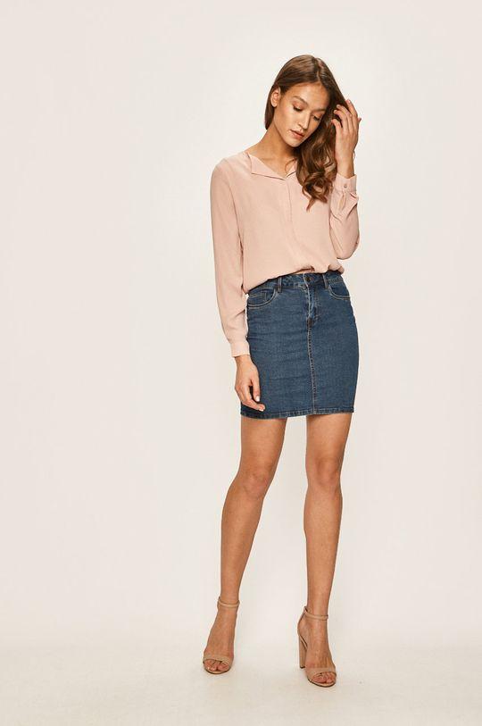 Vero Moda - Spódnica niebieski