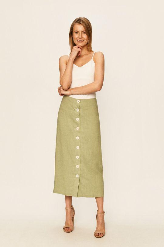 Glamorous - Sukňa zelená