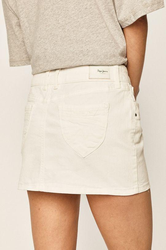 Pepe Jeans - Fusta Ripple Căptuseala: 35% Bumbac, 65% Poliester  Materialul de bază: 97% Bumbac, 3% Elastan