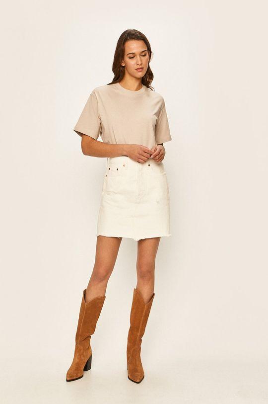 Levi's - Džínová sukně bílá