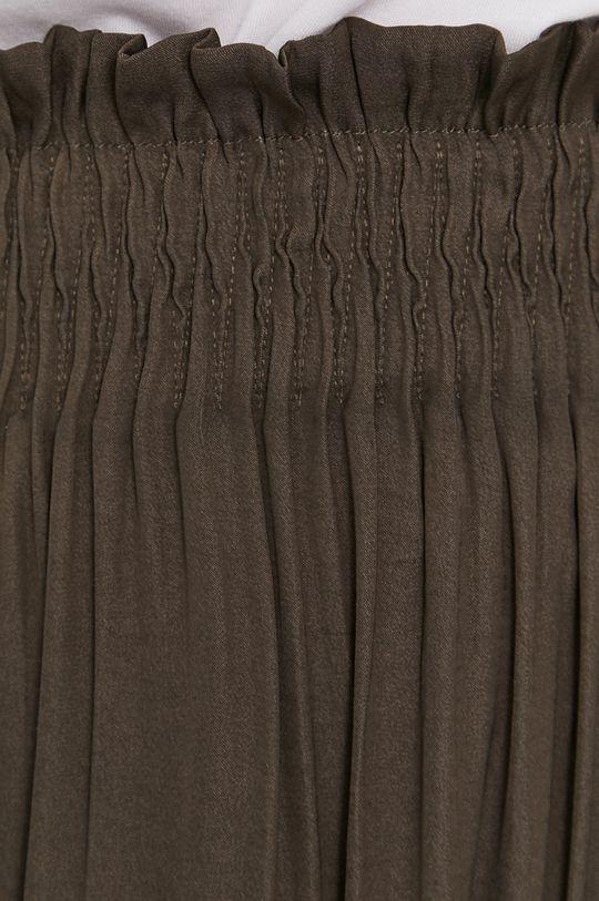 brązowa zieleń Morgan - Spódnica