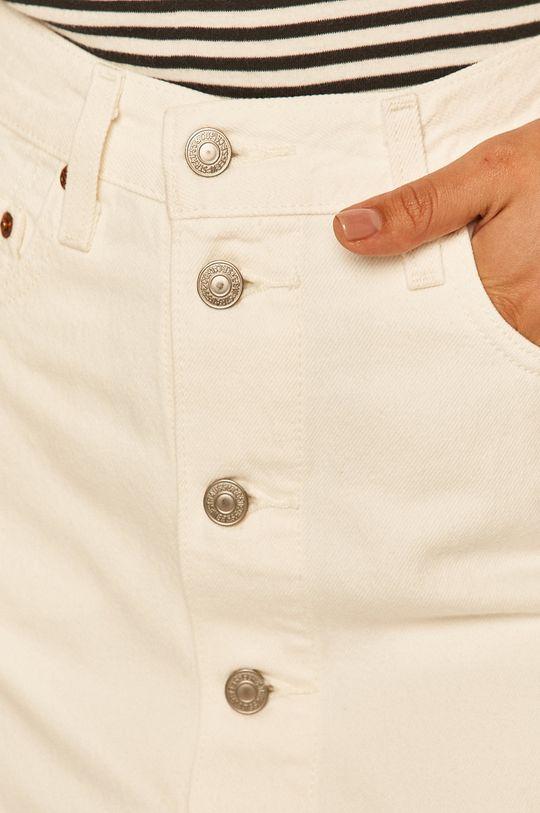 alb Levi's - Fusta jeans