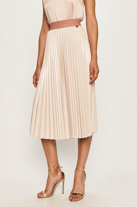 pastelowy różowy Twinset - Spódnica Damski