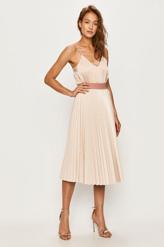 Twinset - Spódnica pastelowy różowy