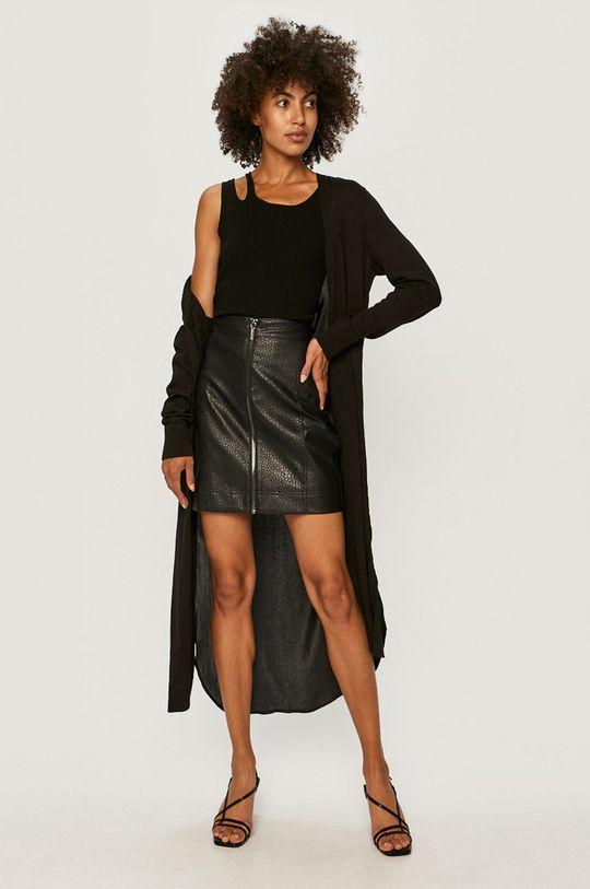 Armani Exchange - Sukňa čierna