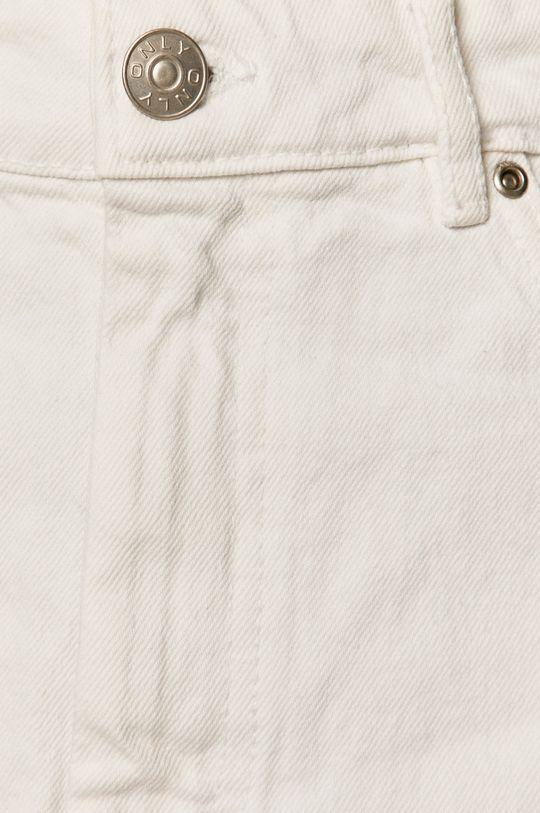 biela Only - Rifľová sukňa