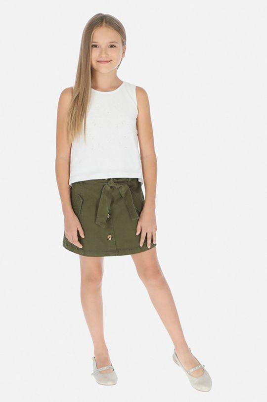 tmavě zelená Mayoral - Dětská sukně 128-167 cm Dívčí