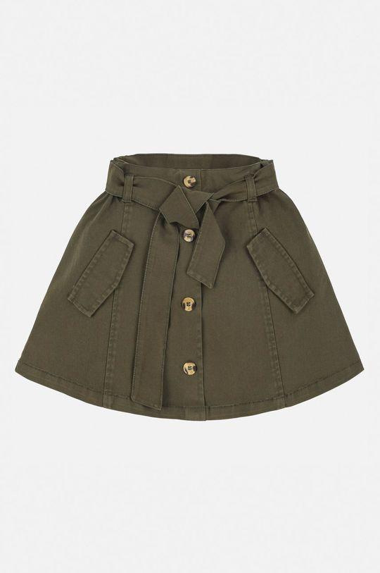 Mayoral - Dětská sukně 128-167 cm tmavě zelená