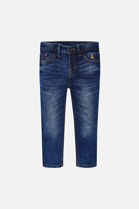 albastru metalizat Mayoral - Jeans copii 92-134 cm De băieți