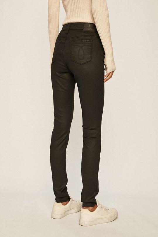 Calvin Klein Jeans - Pantaloni 54% Bumbac, 2% Elastan, 29% Poliester, 15% Viscoza