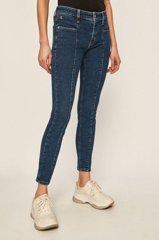 námořnická modř Calvin Klein Jeans - Džíny Dámský