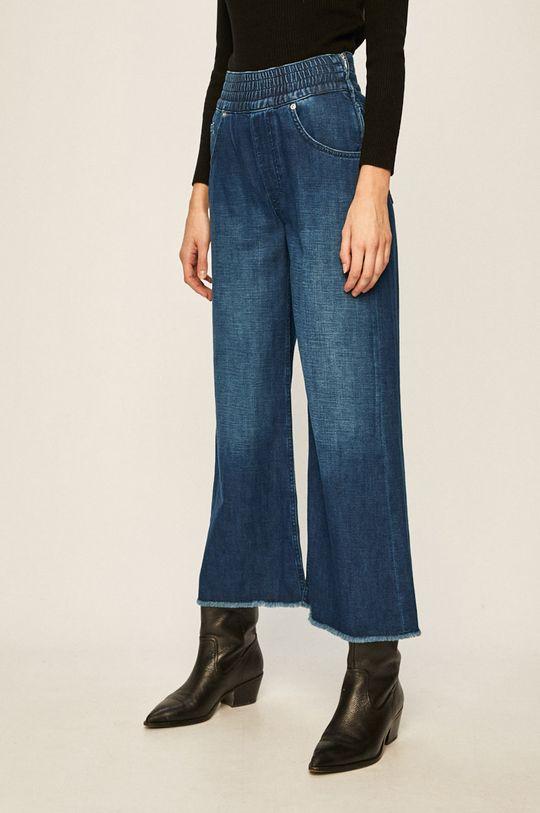 albastru Pepe Jeans - Jeansi Wide Leg De femei