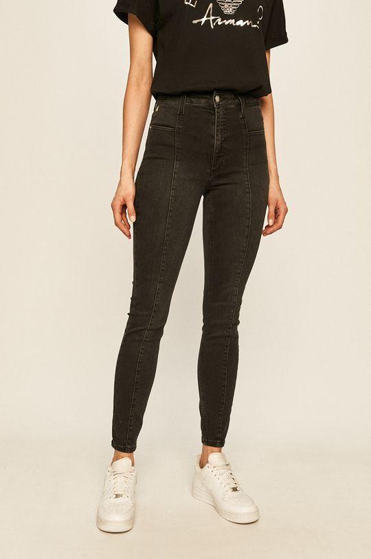 čierna Calvin Klein Jeans - Rifle Seamed Dámsky