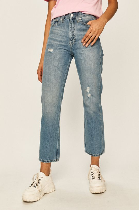 czarny Calvin Klein Jeans - Jeansy CKJ 030 Damski