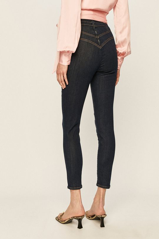 Guess Jeans - Jeansi Gwen 30% Bumbac, 2% Elastan, 63% Lyocell, 5% Poliester