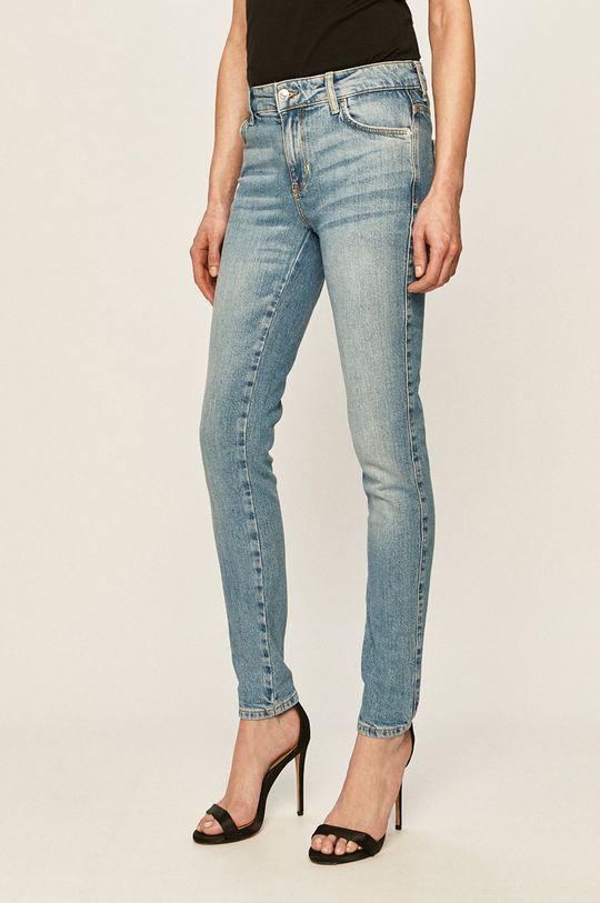 modrá Guess Jeans - Džíny Sexy Curve Dámský