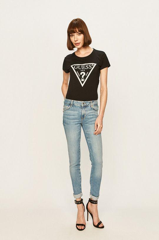 Guess Jeans - Džíny Sexy Curve modrá