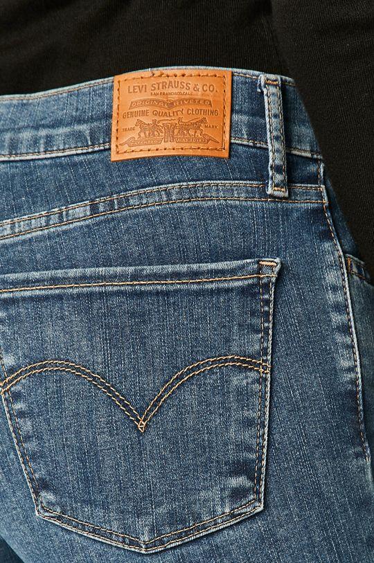 stalowy niebieski Levi's - Jeansy 710